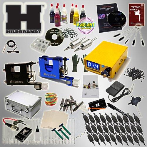 Professional Rotary Tattoo Kit Hildbrandt Advanced TKHADVR kit