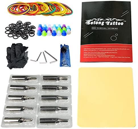 Solong Tattoo Complete Tattoo Kit 4 Pro Machine Gun