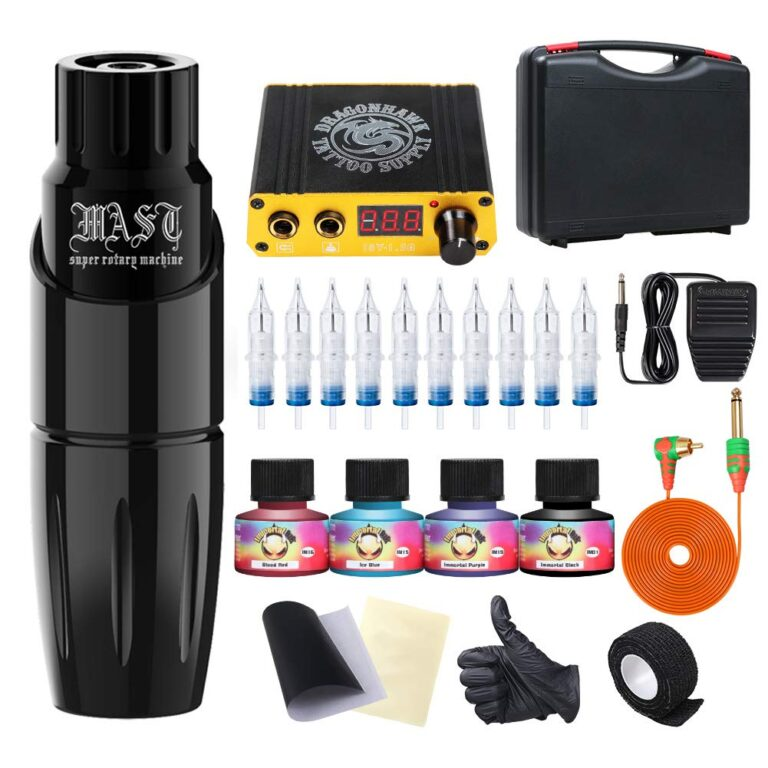 mast tour rotary tattoo pen machine kit