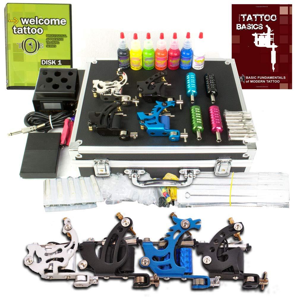 Grinder coil tattoo kit